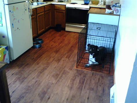 Very Small Kitchen Spaces With Trafficmaster Allure Vinyl