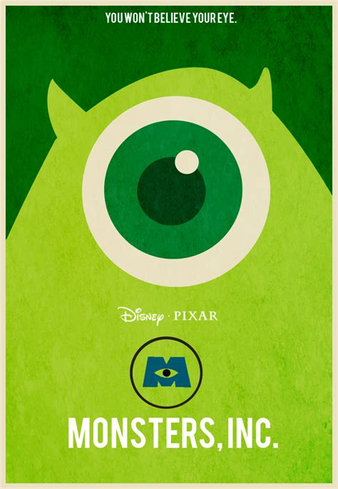 scare   care  monsters  fan posters