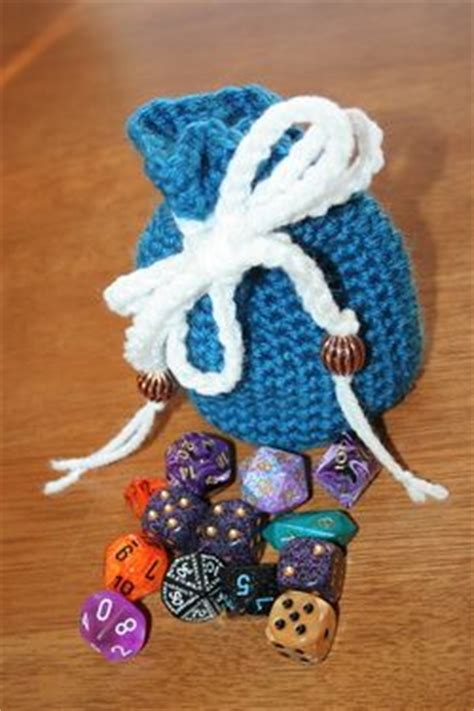 dice bag printable pattern dice bag pattern craft crochet geek pinterest hold