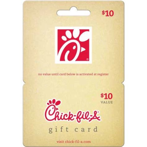 chick fil a 10 gift card walmart com - Chick Fil A Gift Cards At Walmart