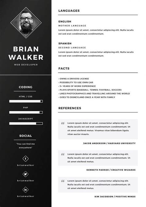 Plantilla De Curriculum Vitae En Word Descargar Tipos De Curriculum Vitae Curriculum Vitae Plantilla Motorcycle Review And Galleries