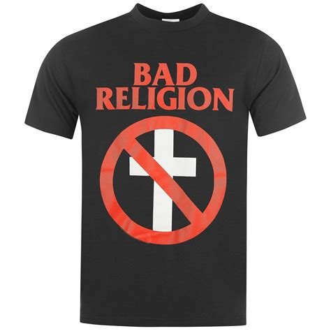 Tshirt Bad Religion Item official bad religion t shirt mens cross buster top