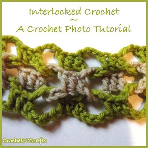 interlocking crochet zig zag pattern 972 best images about crochet stitches tutorials on