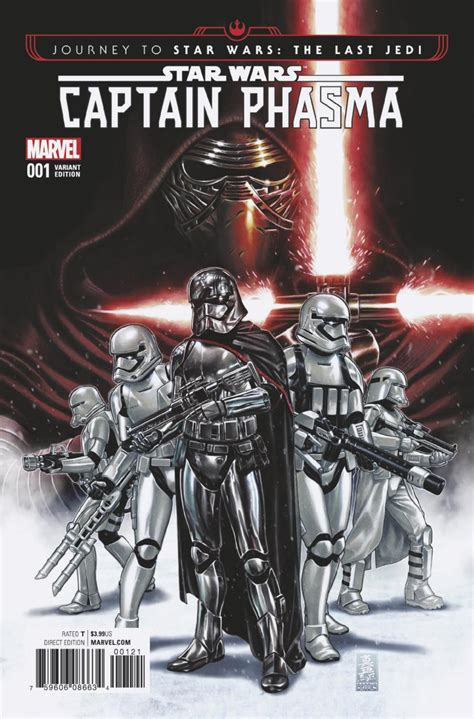 star wars phasma journey journey to star wars the last jedi captain phasma 1 book i part i issue