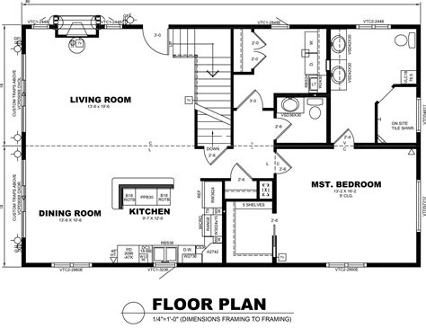 scaled floor plan dynamic modular hartford chalet ideal homes