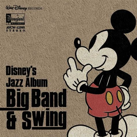 big band swing disney s jazz album big band swing ミュージック ディズニー