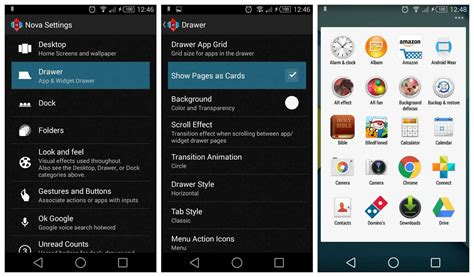Drawer Launcher by Launcher 3 3 Beta1 Introduce Il Drawer In Stile