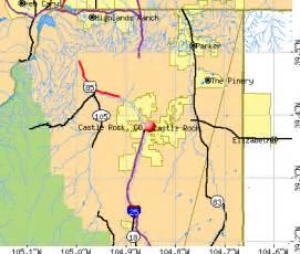 where is castle rock colorado on a map zip code 80104 castle rock co zip data maps autos post