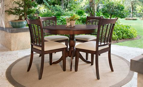 tropical dining room sets your backyard retreat odds end tables