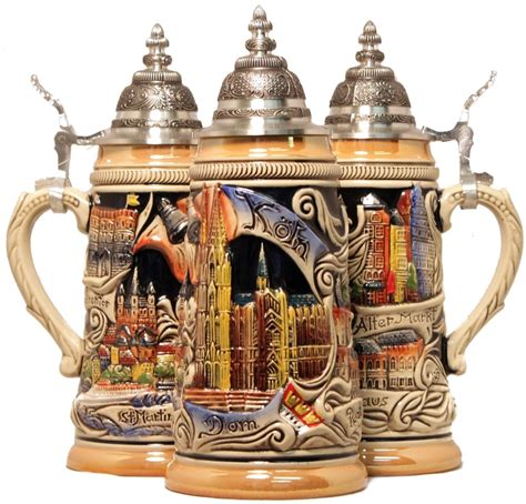 steins artificial trees koln cologne deutschland germany stein authentic steins from germany