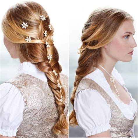 hairstyles for oktoberfest 17 best images about frisuren on pinterest waterfall
