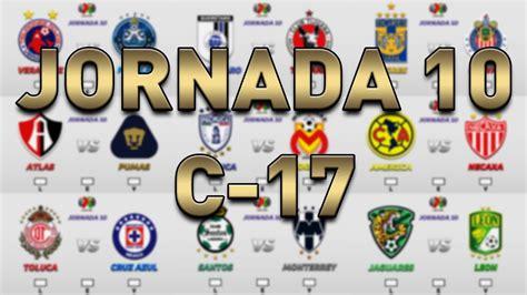 tabla de resultados jornada 12 clausura 2012 pron 211 sticos jornada 10 liga mx clausura 2017 youtube