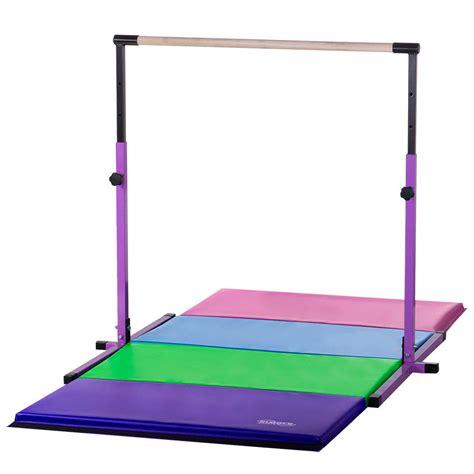 new purple adjustable horizontal bar 8ft pastel