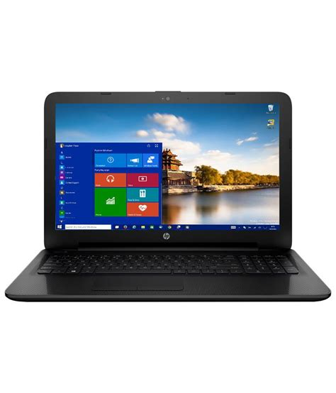 Ram Notebook Hp hp 15 ac168tu notebook p4y39pa intel pentium 4gb ram 500gb hdd 39 62 cm 15 6 windows 10