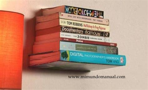 hacer librero flotante como hacer un librero casero mimundomanual novak