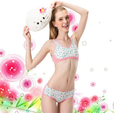 New Pakaian Renang Bra Set Celana Dalam Bh C grosir china tilan baru sekolah gadis dalam bra dan