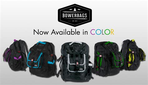 Travel Bag 5 In 1 bowerbags modular 5 in 1 travel bag system now in color