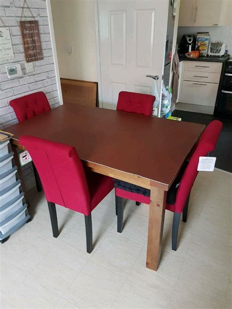 dining room table  chairs  sale  fareham
