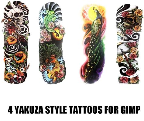 yakuza tattoo brushes browse gimp brushes resources stock images deviantart