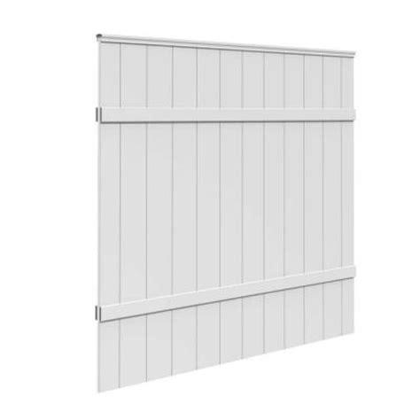 veranda 6 ft h x 6 ft w white vinyl windham fence panel