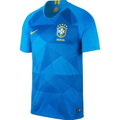 brazilie wk 2018 brazili 235 shirt uit junior wk 2018 2019 soccerfanshop nl