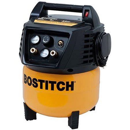 bostitch 6 gallon 150 psi pancake air compressor