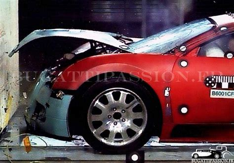 bugatti crash test gruesome images from bugatti veyron crash test