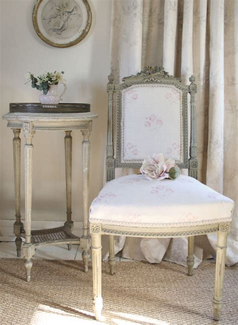 beautiful french bedroom chair with kate forman fabric 163 vintage room sets 1 kate forman