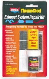 Cargo Thermosteel Exhaust System Repair Kit Quiksteel Thermosteel Metal Plastic Repair Epoxy