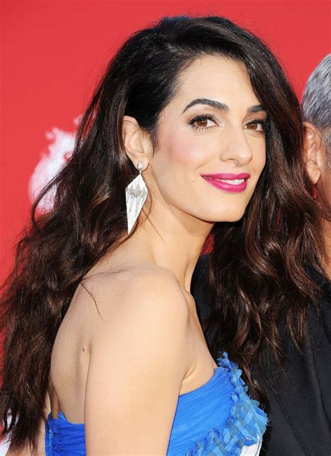 is amal clooney hair one length is amal clooney hair one length amal clooney hairstyle