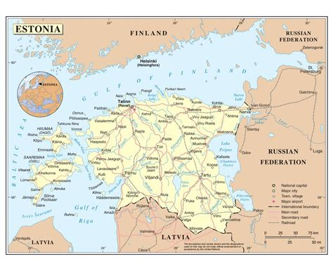 where is estonia on a map maps of estonia detailed map of estonia in