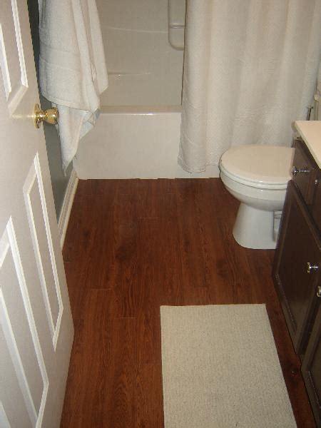 vinyl plank in bathroom house pour flooring take 2