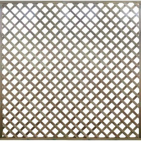 Panneaux Treillis Bois by Panneau Treillis Bois Ajour 233 Premices L 180 X H 180 Cm