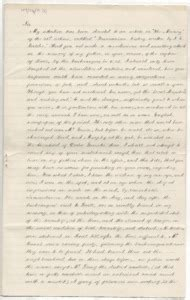 Letter Tasmania Letter From Elizabeth To Backhouse Walker Tasmania 1873 Open Access Repository