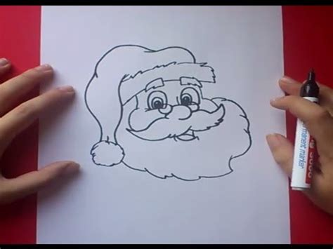 imagenes de santa claus animadas para dibujar como dibujar a papa noel paso a paso 3 how to draw santa