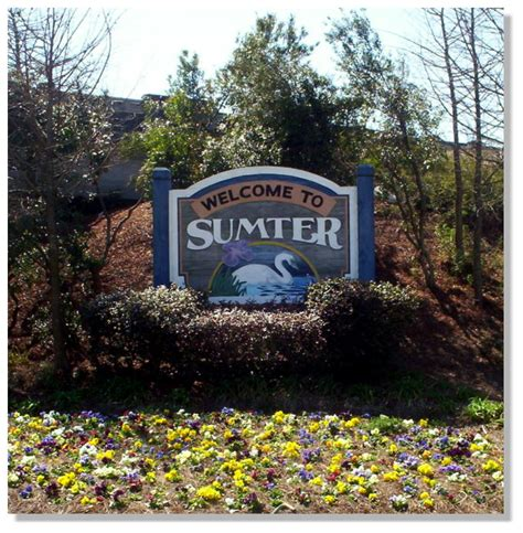 Sumter Sc Records Sumter Sc Welcome Corner Of Pike Road And N Sumter Sc 2004 Photo