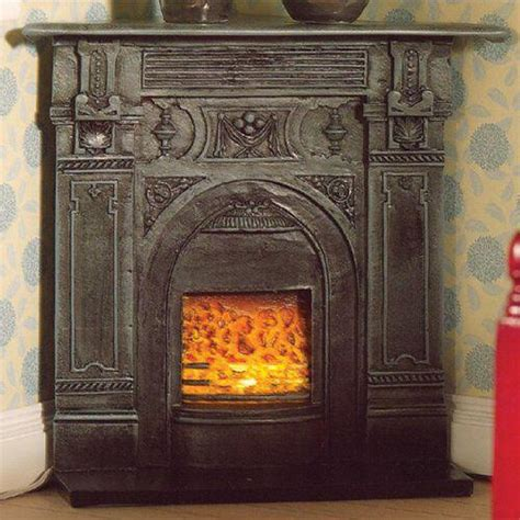dolls house fireplaces the dolls house emporium black corner fireplace