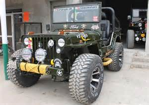 Ford Classic Jeep Vintage Classic Wwii Style Ford And Willys Jeeps Cars For