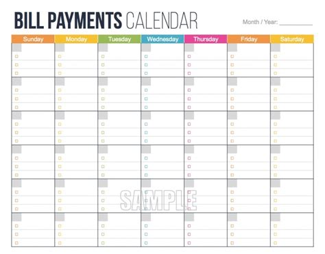printable monthly calendar that can be edited bill calendar printable free calendar template