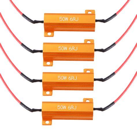 blinker load resistor 4x turn signal load resistor blinker fix led decoder 50w metal resistance ma960 ebay