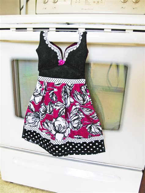 items similar to black rutilated items similar to kitchen dish towel oven door dress in
