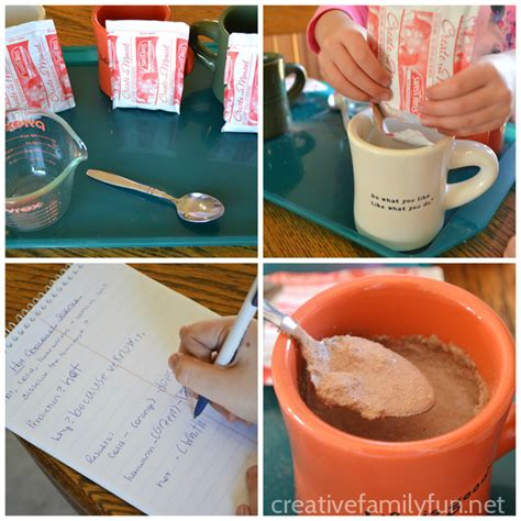 chocolate science project hot chocolate science creative family fun