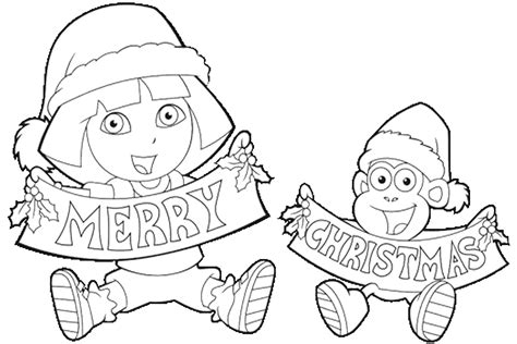 nick jr winter coloring pages fun christmas coloring pages to print festival collections