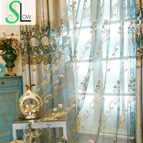 peacock blue sheer curtains compare prices on peacock blue curtains online shopping