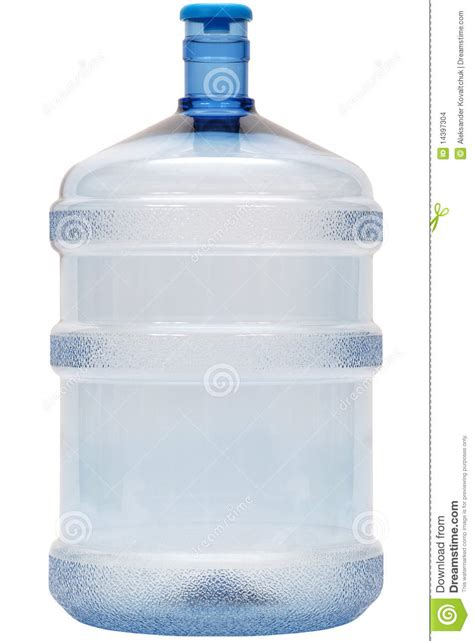 Blue Big Bottle big plastic bottle stock photo image of isolated blue 14397304