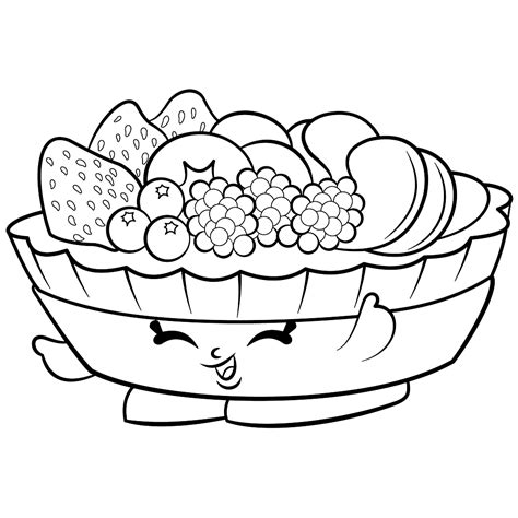 Free Printable Coloring Pages by Shopkins Coloring Pages Best Coloring Pages For