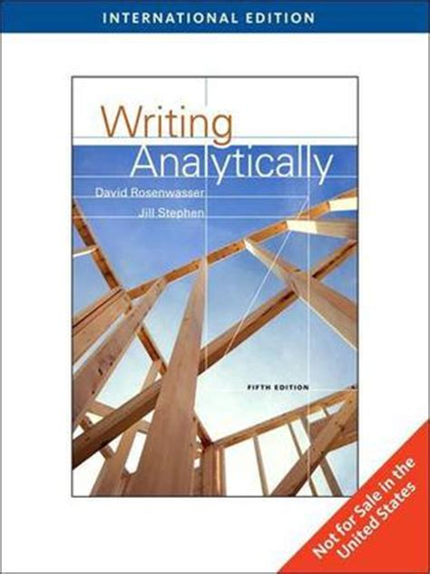 writing analytically books writing analytically 豆瓣