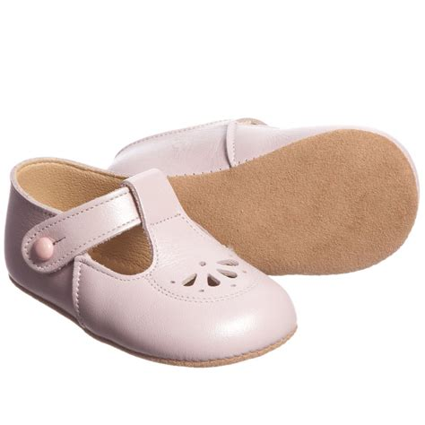 walker shoes early days pink leather robin pre walker shoes