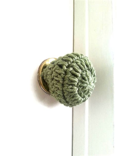 Toddler Proof Door Knob Covers by 3 Crochet Door Knob Cover Child Safety Cover Child Proof