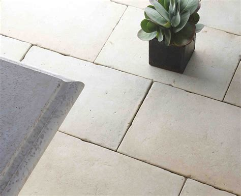 White Paving Stones Pavers Indoor Outdoor Garden Pavers Tiles